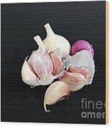 Still Life 01 Wood Print by Giorgio Darrigo