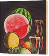 Still Life Wood Print by Dayna Reed