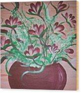 Still Life Floral Wood Print