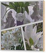 Still Life In White Wood Print