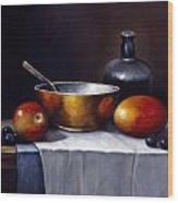 Still Life Rhapsody Wood Print by John Zaccheo