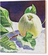 Still Life With Apple Wood Print