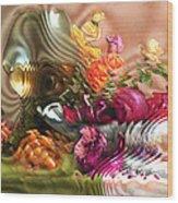 Still Life With Lemon. 2013 80/60 Cm.  Wood Print