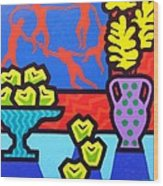 Still Life With Matisse Wood Print