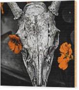 Still Life With Nasturtium 6 Wood Print
