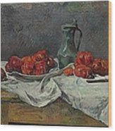 Still Life With Tomatoes Wood Print
