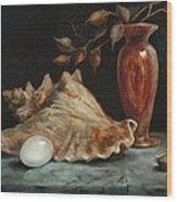 Stilllife Wood Print by Jolyn Kuhn