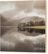 Stillness Of The Water Wood Print