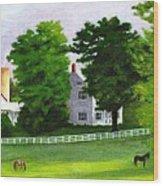 Stillpoint Farm Wood Print