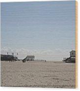 Stilt Houses - North Sea - Germany Wood Print