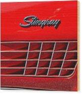 Stingray Wood Print