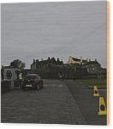 Stirling Castle And The Parking Area For The Castle Wood Print