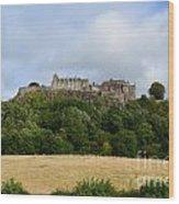 Stirling Castle Wood Print