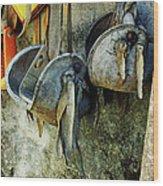 Stirrups 7902 Wood Print