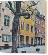 Stockholm 14 Wood Print by Yury Malkov