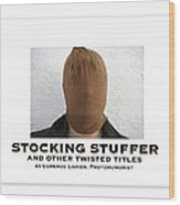 Stocking Stuffer Book Cover Wood Print