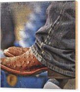 Stockshow Boots IIi Wood Print