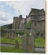 Stokesay Castle 2 Wood Print