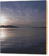 Stommish Waters Wood Print