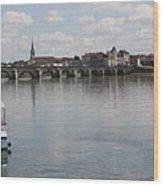 Stone Arch Bridge - Macon Wood Print