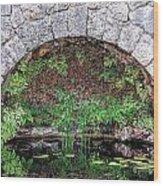 Stone Arch Wood Print by Rudy Umans
