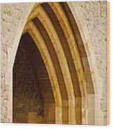 Stone Archway At Tower Hill Wood Print