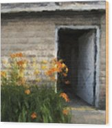 Stone Barn Neo Wood Print