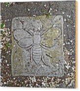 Stone Bee In Jim Thorpe Pa Wood Print