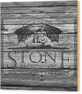 Stone Brewing Wood Print