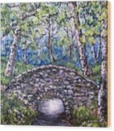 Stone Bridge 2 Wood Print