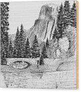 Stone Bridge Wood Print by Al Intindola