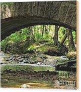 Stone Bridge II Wood Print