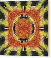 Stone Circle Sunrise Wood Print