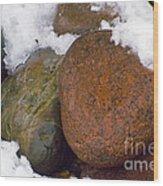 Stone Cold Wood Print
