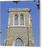 Stone Gothic Church Wood Print