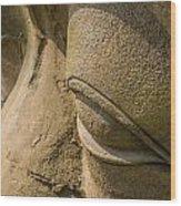 Stone Idol Wood Print