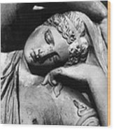 Stone Lady Wood Print