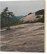 Stone Mountain State Park North Carolina 01 Wood Print