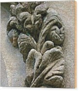 Stone Ornament 2 Wood Print