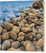Stone Path Wood Print