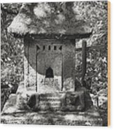 Stone Shrine Wood Print