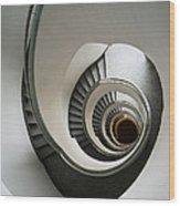 Stone Staircase Wood Print