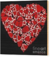Stoned In Love Wood Print