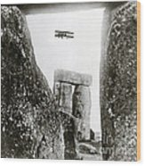 Stonehenge 1914 Wood Print by Science Source