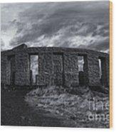Stonehenge Of America Wood Print