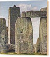 Stonehenge Panorama Wood Print