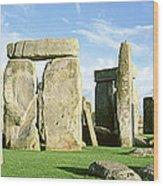 Stonehenge, Wiltshire, England, United Wood Print
