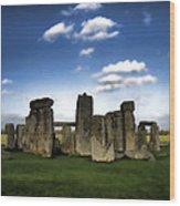 Stonehenged Again Wood Print