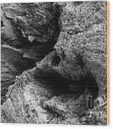 Stonewood Canyon - Bw - Wonderwood Collection - Olympic Peninsula Wa Wood Print