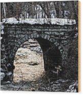 Stoney Bridge Wood Print